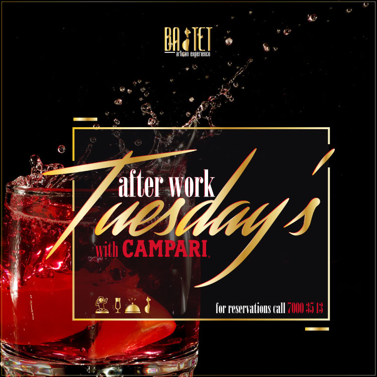 After Work Drinks Tuesdays